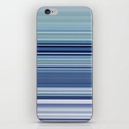 blue morning iPhone Skin