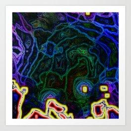 Disintegrate VII Art Print