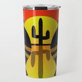 Southwest Kokopelli Desert Sunset Travel Mug