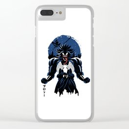 legendary symbiote Clear iPhone Case