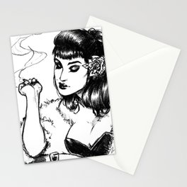 long nights. Stationery Cards