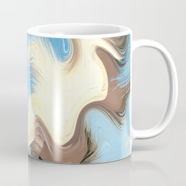 Hair Puzzle: digital abstract art Coffee Mug