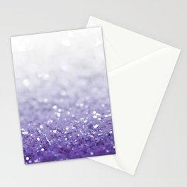 MERMAIDIANS PURPLE GLITTER Stationery Cards
