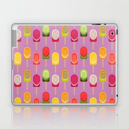 Fruit popsicles - pink version Laptop & iPad Skin