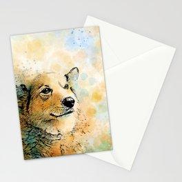 Dog 143 Corgi Stationery Cards