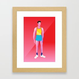 Heatwave 2/2 Framed Art Print
