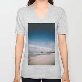 Cannon Beach V Unisex V-Neck