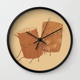 Loggy Modification Wall Clock