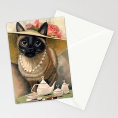 Lady Cat Stationery Cards