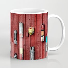 Red Wall Buoy Coffee Mug