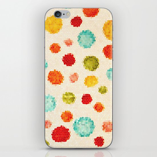 fun little polka dots iPhone & iPod Skin