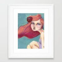 jane davenport Framed Art Prints featuring Beautiful Faces by Jane Davenport by Jane Davenport