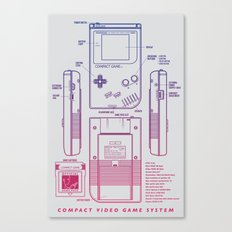 Game Kid Canvas Print