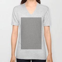 Ash - Pantone Fashion Color Trend Spring/Summer 2020 NYFW Unisex V-Neck