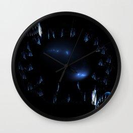 Festive Circles and Cones Wall Clock
