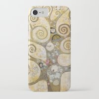 klimt iPhone & iPod Cases featuring klimt by Ju Tiscornia