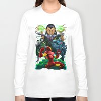ironman Long Sleeve T-shirts featuring Ironman by Vincent Trinidad