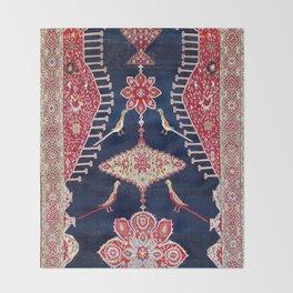 Karabagh Azerbaijan South Caucasus Kelleh Rug Print Throw Blanket