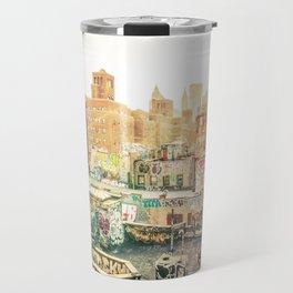 New York City Graffiti Travel Mug