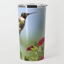 Hummingbird Frolic Travel Mug