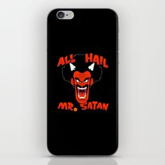 All Hail Mr. Satan iPhone & iPod Skin