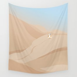 """BB-8 Jakku"" by Lyman Creative Co Wall Tapestry"