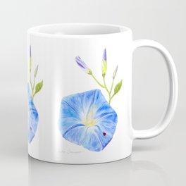 Morning Glory and the Ladybug by Teresa Thompson Coffee Mug