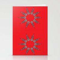 chakra Stationery Cards featuring Chakra by RaJess