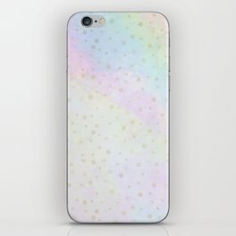 Holographic stars iPhone Skin