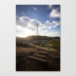 Follow Me To the Sunset Canvas Print