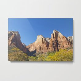 The Court of the Patriarchs Metal Print
