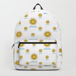 Uruguay Symbol Design Pattern Backpack