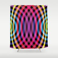 waves Shower Curtains featuring Waves by Gary Andrew Clarke