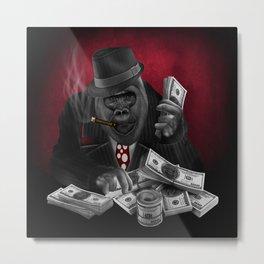 Mafia Of The Ape Metal Print