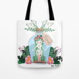 Miss Printemps Tote Bag