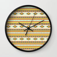passion Wall Clocks featuring Passion by Adel