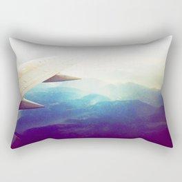 morning plane Rectangular Pillow