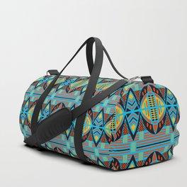 African Tribal Motif Pattern Duffle Bag
