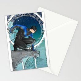Nightwing Nouveau Stationery Cards