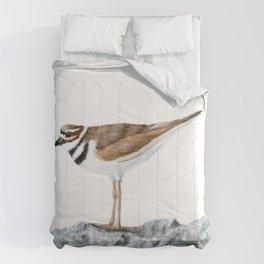 Killdeer Art 1 by Teresa Thompson Comforters