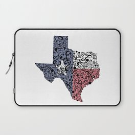 Texas - Hand Sketched Doodle Art Laptop Sleeve