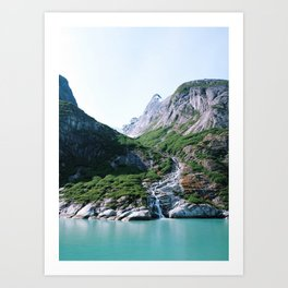 Fjord. Art Print
