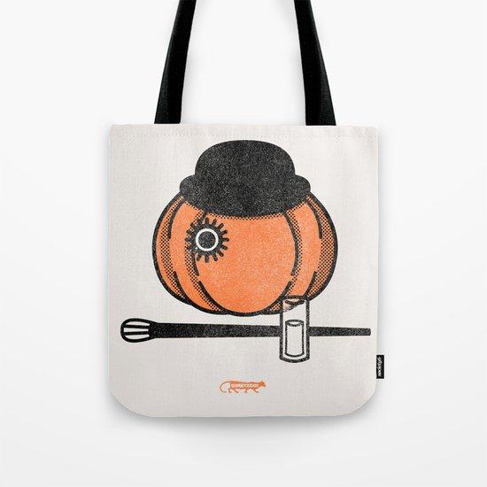 A Clockwok Pumpkin Tote Bag
