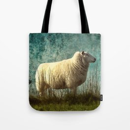 Vintage Sheep Tote Bag