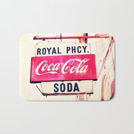 Royal Pharmacy Vintage Sign - New Orleans Bath Mat