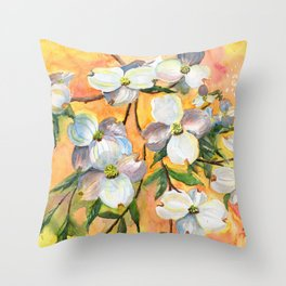 Can You Feel Spring ? Throw Pillow