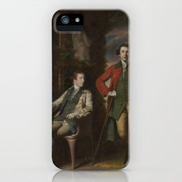 The Honorable Henry Fane (1739–1802) with Inigo Jones and Charles Blair,1761–66 iPhone Case