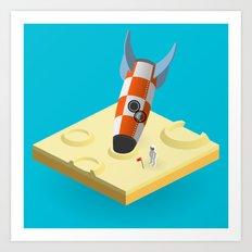 landed ii Art Print