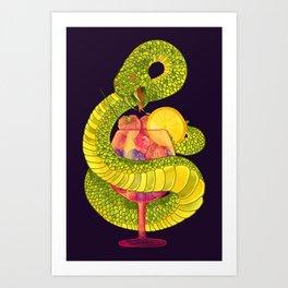 Viper on a Diet Art Print