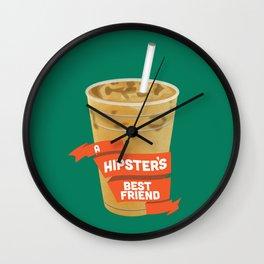 A Hipsters Best Friend Wall Clock